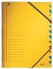 Soteermap 12 delig leitz elastomap met tabs